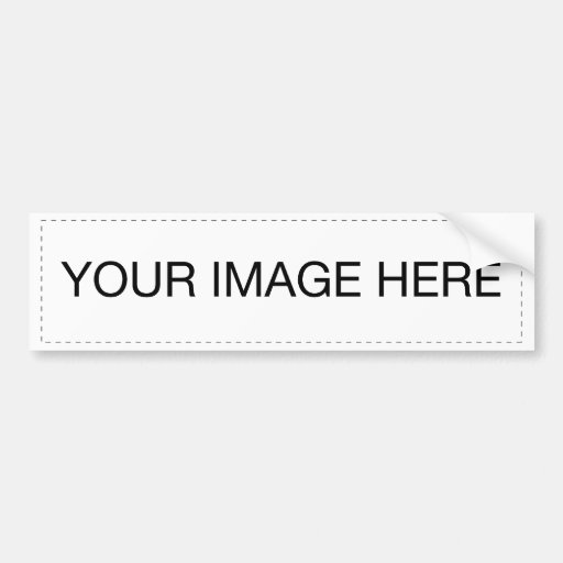 Beautiful nature pictures to decorate your item bumper sticker