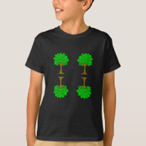 Beautiful nature. Tree for environment and linden T-Shirt