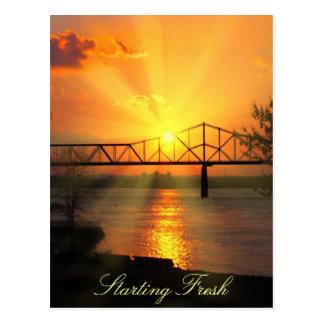 Beautiful new day postcard