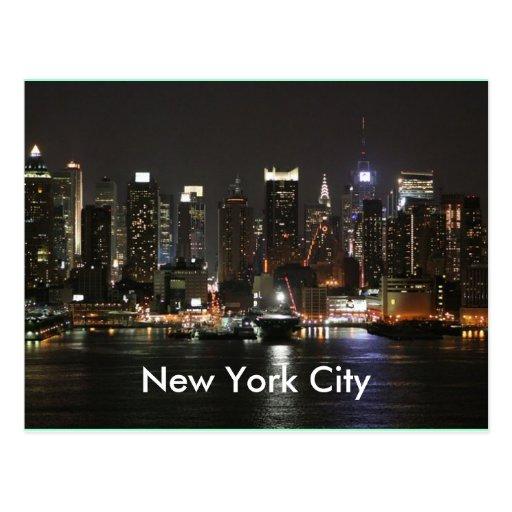Beautiful New York City Postcards