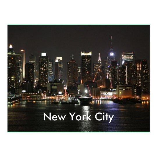 Beautiful new york city postcard for New york city beautiful