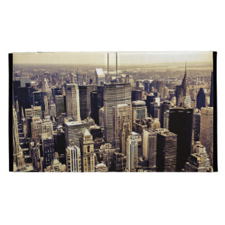 Beautiful New York City Skyscrapers Skyline iPad Cases
