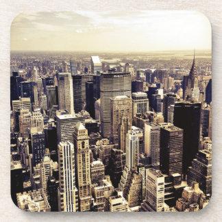 Beautiful New York City Skyscrapers Skyline Drink Coaster