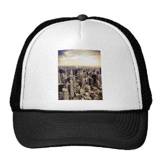 Beautiful New York City Skyscrapers Skyline Mesh Hats