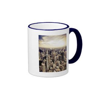 Beautiful New York City Skyscrapers Skyline Mugs