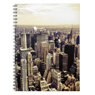 Beautiful New York City Skyscrapers Skyline Spiral Notebook