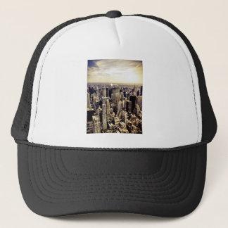 Beautiful New York City Skyscrapers Skyline Trucker Hat
