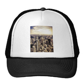 Beautiful New York City Skyscrapers Skyline Trucker Hat