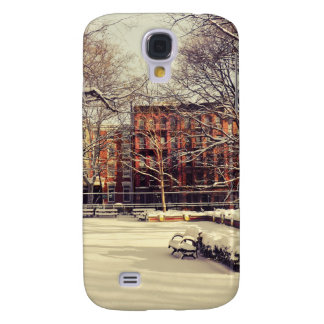 Beautiful New York Winter Samsung Galaxy S4 Cover