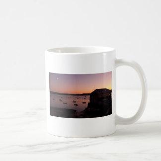 Beautiful night shot in Rock in Cornwall Classic White Coffee Mug