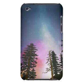 Beautiful night sky shining up to the heavens iPod touch case