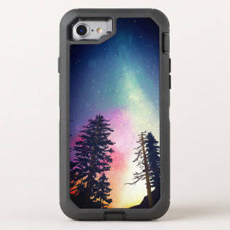 Beautiful night sky shining up to the heavens OtterBox defender iPhone 8/7 case