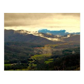 Beautiful North Carolina Landscape Photo Postcard