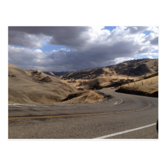 Beautiful Northern California Rolling Hills Postcard