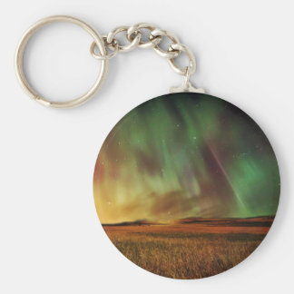 Beautiful northern lights keychain