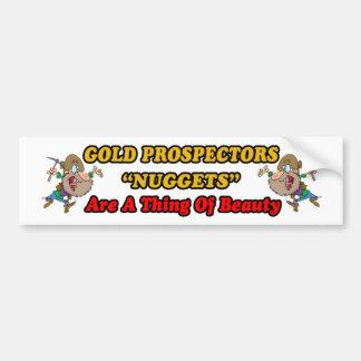Beautiful Nuggets Bumper Sticker
