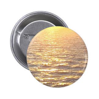 Beautiful Ocean Golden Hour Sunrise Button