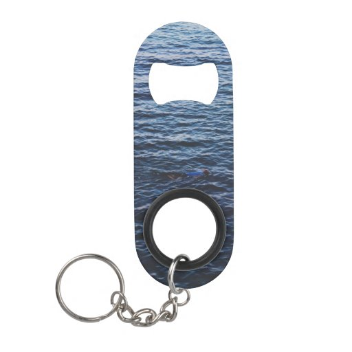 beautiful ocean keychain bottle opener zazzle. Black Bedroom Furniture Sets. Home Design Ideas