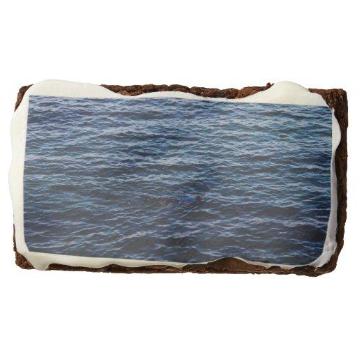 Beautiful Ocean Rectangular Brownie Zazzle