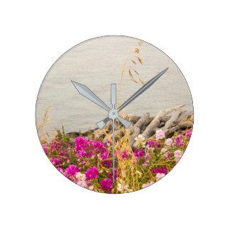 Beautiful Ocean Shoreline Wall Clock