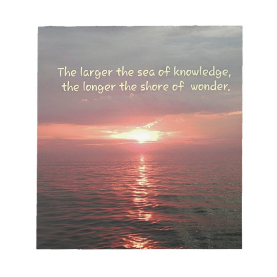"Inspirational Quote Sunrise: Quotes To Inspire: ""A Loving..""~Dickens- Notepad"