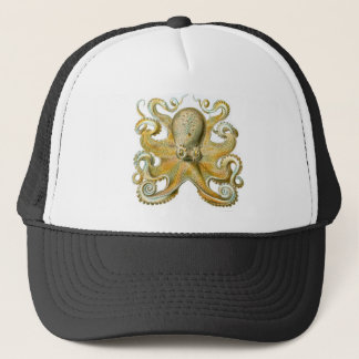 Beautiful octopus picture by Haeckel Trucker Hat