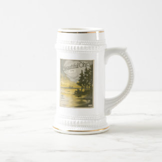 Beautiful Ohio Beer Stein