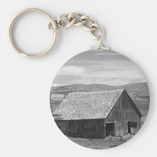 Beautiful Old Barn Keychain