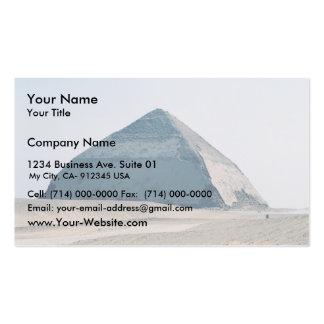 Beautiful Old Bent Pyramid Business Card Template