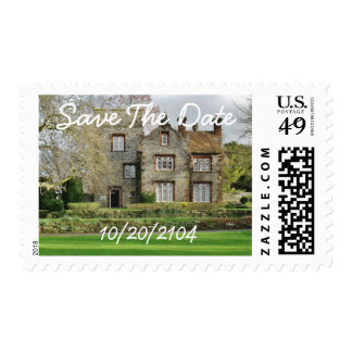 Beautiful Old Building Personalized Wedding Postage