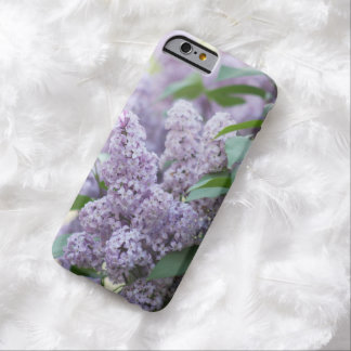 Beautiful Old Fashioned Pastel Purple Lilacs Barely There iPhone 6 Case