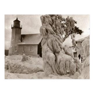 Beautiful Old Rustic Vintage Lighthouse Photos Postcard