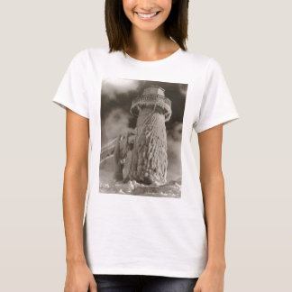 Beautiful Old Rustic Vintage Lighthouse Photos T-Shirt