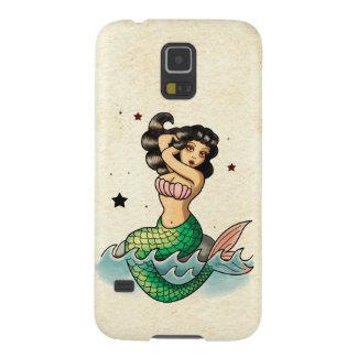 Beautiful Old School Mermaid Case For Galaxy S5