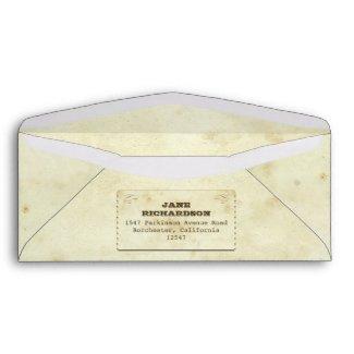 beautiful old vintage design envelopes