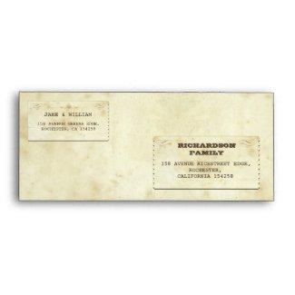 beautiful old vintage envelopes