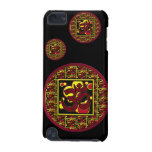 Beautiful Om Aum Symbol w/Circles and Squares iPod Touch (5th Generation) Cases