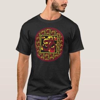 Beautiful Om Aum Symbol w/Circles and Squares T-Shirt