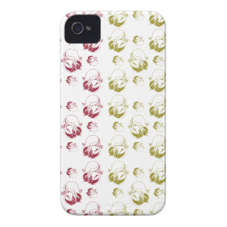 Beautiful on woman phase colorfull pattern iPhone 4 Case-Mate case