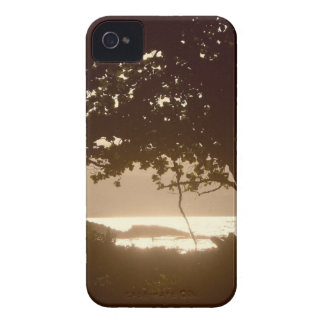 Beautiful Onekahakaha Beach Sunset iPhone 4 Cases