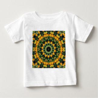 Beautiful Orange and Yellow Lantana Kaleidoscope 2 Tee Shirt