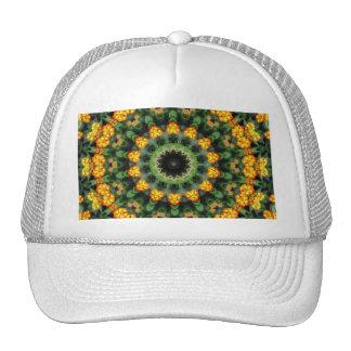 Beautiful Orange and Yellow Lantana Kaleidoscope 2 Trucker Hat