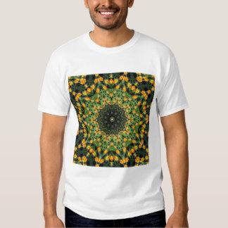 Beautiful Orange and Yellow Lantana Kaleidoscope 3 T Shirt