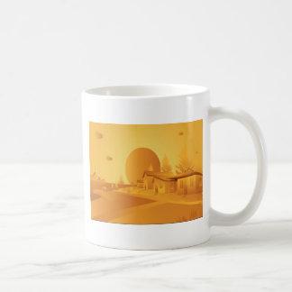 Beautiful Orange landscape Coffee Mug