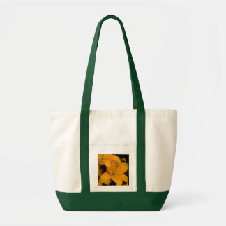 Beautiful orange lily flowers tote bag, gift idea