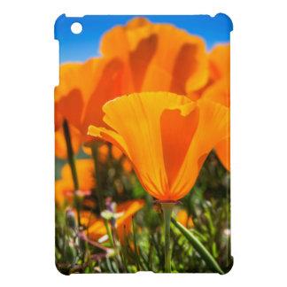 Beautiful Orange Poppy Flowers in a Field iPad Mini Cover