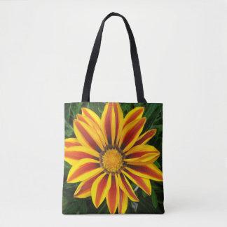 Beautiful Orange Sun Flower Photo Tote Bag