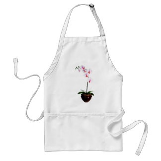 Beautiful Orchid Adult Apron