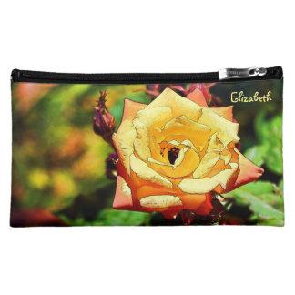 Beautiful Orchid Cosmetic Bag