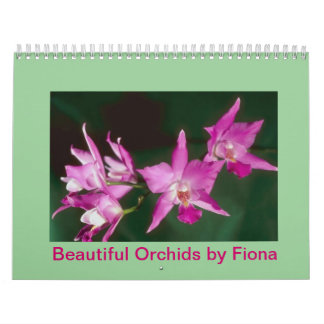 Beautiful Orchids by Fiona Calendar
